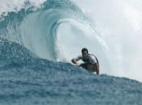 TECHNOLOGY SAVES CHAMPION SURFER FROM SHARK ATTACK
